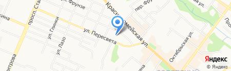 Брянск-АСКО на карте Брянска