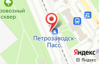Схема проезда до компании Интелтек в Петрозаводске