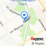 Народная 7Я на карте Петрозаводска