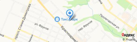 ТЭМ на карте Брянска