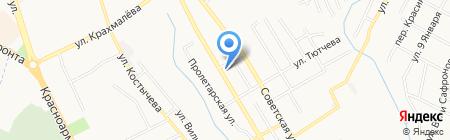 Строящийся жилой дом по ул. Фокина на карте Брянска