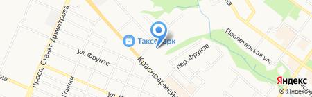 Департамент здравоохранения на карте Брянска