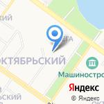 Капелька на карте Петрозаводска