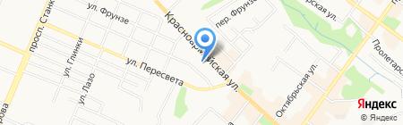 МТС на карте Брянска
