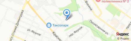 Почтовое отделение №19 на карте Брянска