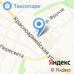 Банкомат на карте Брянска