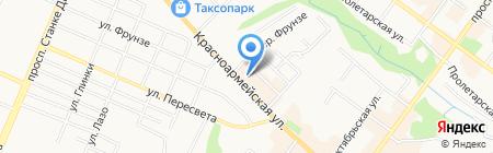 Современные Балконы на карте Брянска