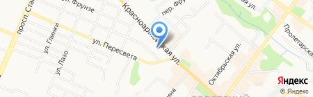 ЮРЭКСП на карте Брянска