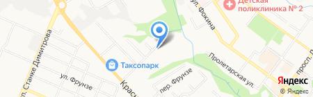 Брянскзооветснаб на карте Брянска