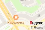 Схема проезда до компании Книги для Вас в Петрозаводске