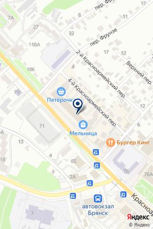 АЭЛИТ на карте Брянска