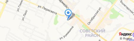 Брянская лаборатория судебной экспертизы Министерства юстиции РФ на карте Брянска