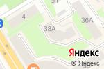 Схема проезда до компании Студия красоты Натальи Виноградовой в Петрозаводске