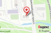 Схема проезда до компании Вита-Данс в Ярославле