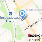 Петрозаводский государственный университет на карте Петрозаводска
