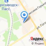 Vilurs на карте Петрозаводска