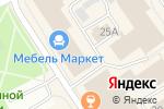 Схема проезда до компании Материнское сердце в Петрозаводске
