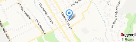 Студия причесок на карте Брянска