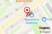 Схема проезда до компании За Рулем-Карелия в Петрозаводске