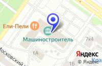 Схема проезда до компании ЭКСПРЕСС-АВТО в Петрозаводске