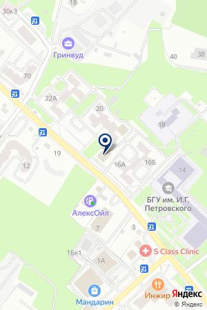 АССОЦИАЦИЯ МОЛОДЫХ ПРЕДПРИНИМАТЕЛЕЙ БРЯНСКОЙ ОБЛАСТИ на карте Брянска