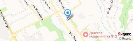 Отдел надзорной деятельности на карте Брянска