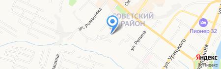 Автобан-строй на карте Брянска