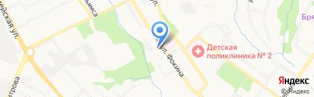 Пронто-Центр на карте Брянска