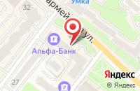 Схема проезда до компании WT-парикмахер в Брянске