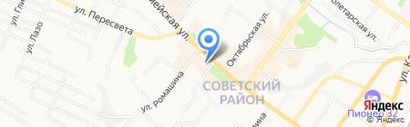 Авеню на карте Брянска