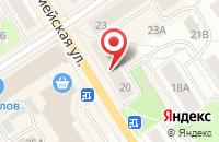 Схема проезда до компании Участковый пункт полиции в Петрозаводске