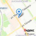 Бегун-Сервис на карте Петрозаводска