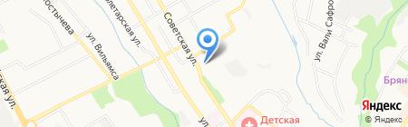 Хмель на карте Брянска