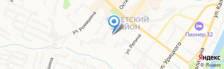 Центр занятости населения города Брянска на карте Брянска