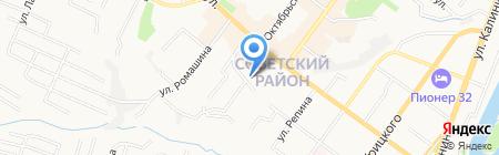 Банкомат КБ МАСТ-БАНК на карте Брянска