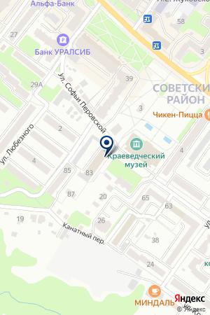 УЧЕБНЫЙ ЦЕНТР на карте Брянска