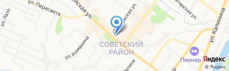 Государственная инспекция труда в Брянской области на карте Брянска
