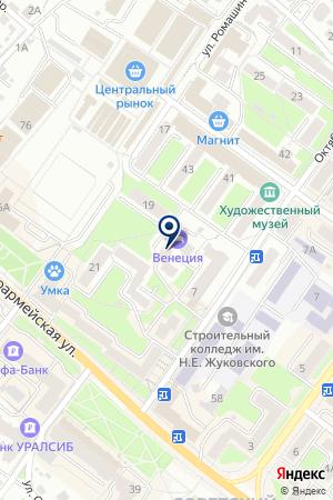 ККО ФОРУС БАНК на карте Брянска