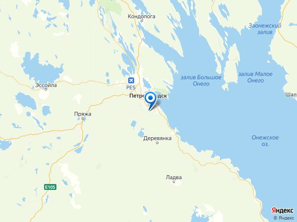 ДНП Радужный на карте