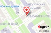 Схема проезда до компании Желдоринвест в Петрозаводске