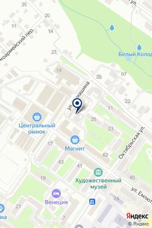 РКЦ ГЛАВНОЕ УПРАВЛЕНИЕ БАНКА РОССИИ ПО БРЯНСКОЙ ОБЛАСТИ на карте Брянска