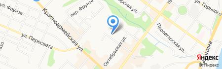 Платежный терминал БИНБАНК кредитные карты на карте Брянска