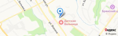 Управление государственных закупок Брянской области на карте Брянска
