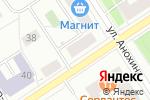 Схема проезда до компании Уют в Петрозаводске