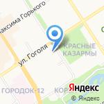 Центр Культуры на карте Петрозаводска