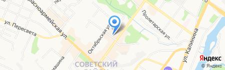 Белорусский трикотаж на карте Брянска