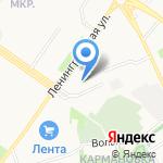 Индустриальный колледж на карте Петрозаводска