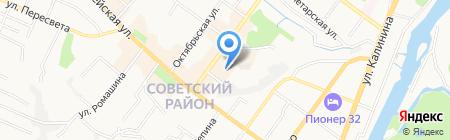 Магазин чехлов для мебели на карте Брянска