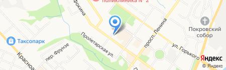 АНДЕРСЕНЪ на карте Брянска
