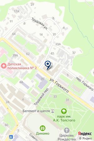 ИНСПЕКЦИЯ ГОСТЕХНАДЗОРА БРЯНСКОЙ ОБЛАСТИ на карте Брянска